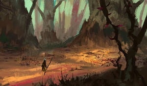 Cucurbita forest by parkurtommo