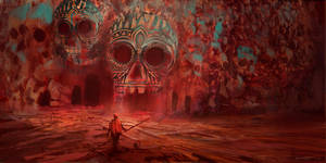 Day of the Dead Catacombs by parkurtommo