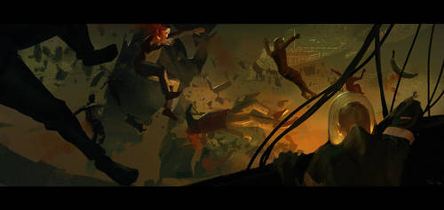 Attack on the HS Merrick by parkurtommo