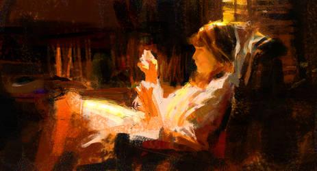 Richard Schmid Study 1 by parkurtommo