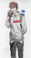 Sporty guy by Disheveledpastels