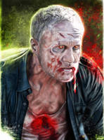 Merle Dixon by p1xer