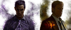 True Detective : Rust Cohle and Martin Hart vol2 by p1xer