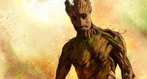 Guardians Of The Galaxy - Groot by p1xer