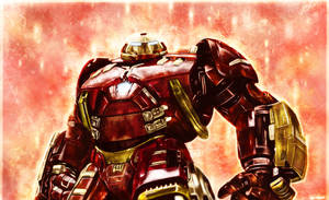 Avengers: Age of Ultron  - Hulkbuster by p1xer