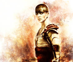 Mad Max: Fury Road - Furiosa by p1xer