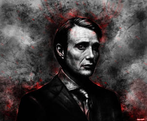 Hannibal Lecter by p1xer