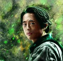 The Walking Dead - Glenn Rhee by p1xer