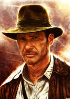 Indiana Jones by p1xer