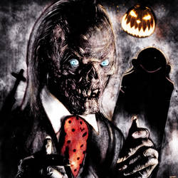 Tales from the Crypt - Halloween Cryptkeeper by p1xer