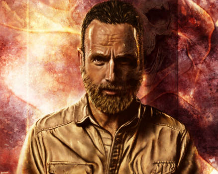 The Walking Dead - Rick Grimes 2018 by p1xer