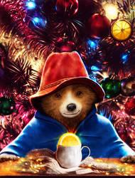 Christmas Paddington by p1xer