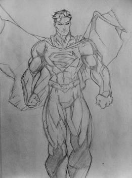 Superman Sketch by DiegoE05