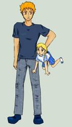 comish - Ichigo and Satomi by Dragon-Screamer