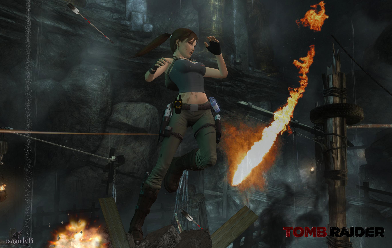 Lara Croft - TR Reboot01 by isagiiirlyB