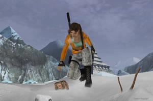 Lara Croft - TR3 07 by isagiiirlyB