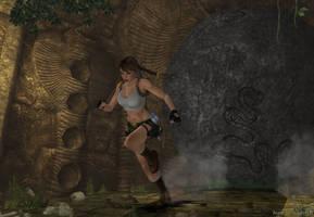 Lara Croft - TR3 11 by isagiiirlyB