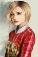 Chloe grace moretz study by werur