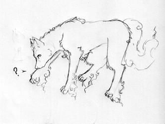 Blakie-kun wants a wolfie by Strevis
