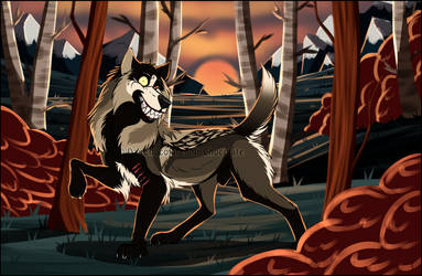 WoLF: Last days of Fall by DasChocolate