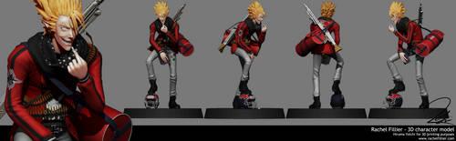 Hiruma Yoichi - 3D character model by Alidythera