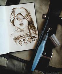 Li'l Girl by eskitenekekutu