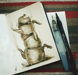 Teapotpotpots by eskitenekekutu
