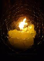 Christmas Candle by ExoPanda