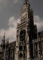 Munich City Hall by cleverless