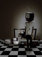 Tv Head by cleverless