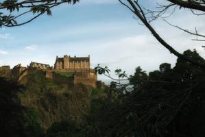Edinburgh Castle by cleverless