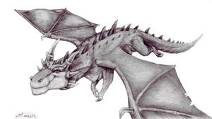 flying dragon by timacs