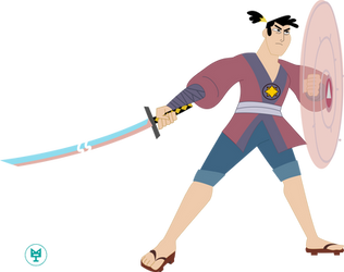 Steve-ack / lonely blade by timacs