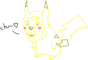 Pikachu: Fear it by Marcotonio-desu