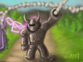 Kingdom Rush: Juggernaut by Marcotonio-desu