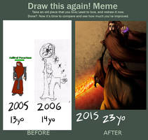 Draw this again! by Marcotonio-desu