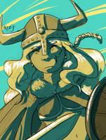 Viking Girl by Marcotonio-desu