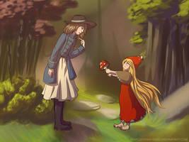 Amelia meets Phiona by Marcotonio-desu