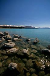 Lake Pukaki New Zealand by Thrill-Seeker