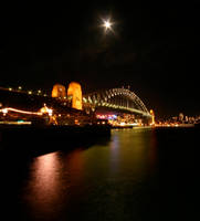 Sydney Bridge Australia by Thrill-Seeker