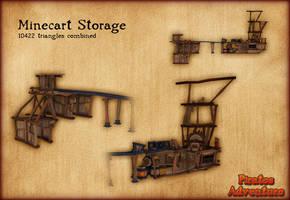 PH - Minecart Storage by PiratesAdventure