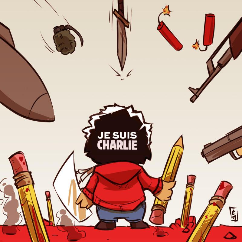 Je suis Charlie by ChrisMassuh2150