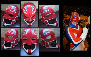 Captain Britain Finished by 4thWallDesign