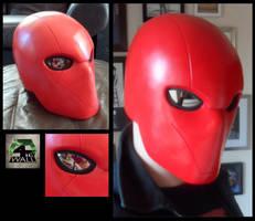 Red Hood Helmet by 4thWallDesign