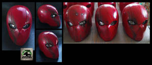 Red Hood Helmet - Battle Damage edition. by 4thWallDesign