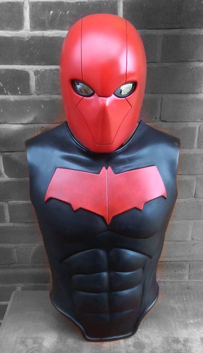 Red Hood chest armour. by 4thWallDesign