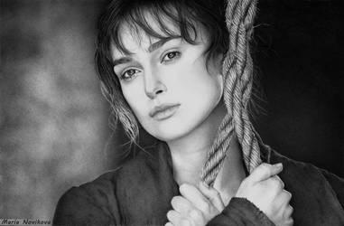 Keira Knightley by MariaNovikova
