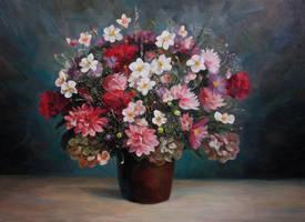 flowers by MariaNovikova