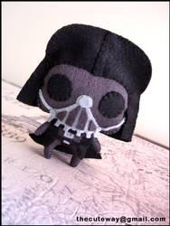 .:Darth Vader plushie:. by SaMtRoNiKa