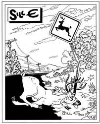 Deer Crossing by EJJS
